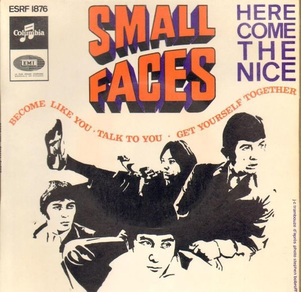 small faces here come the nice (original french ep)