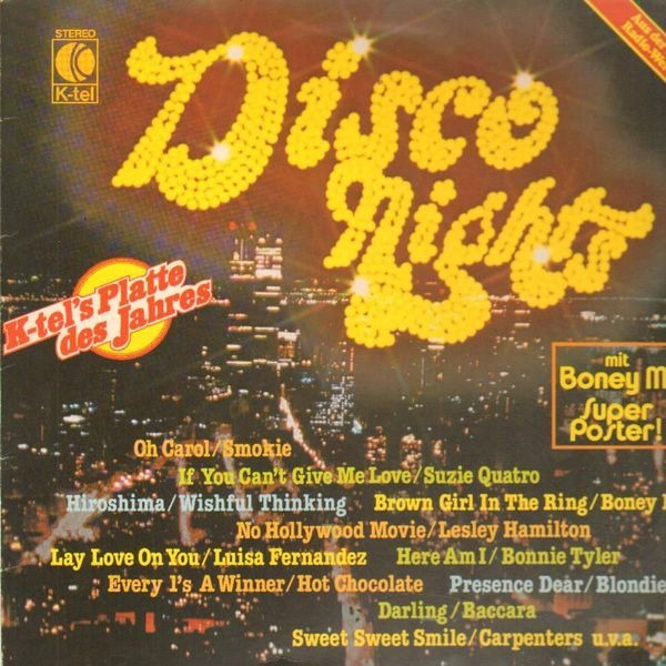 #<Artist:0x007f14d6e59920> - Disco Nights