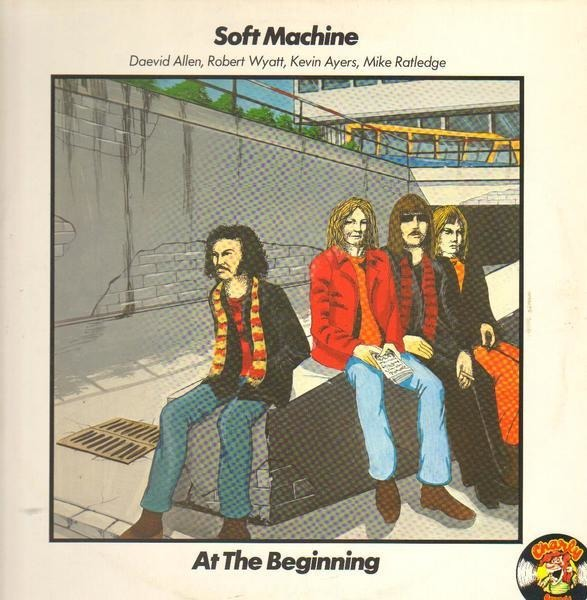 SOFT MACHINE - At The Beginning - LP