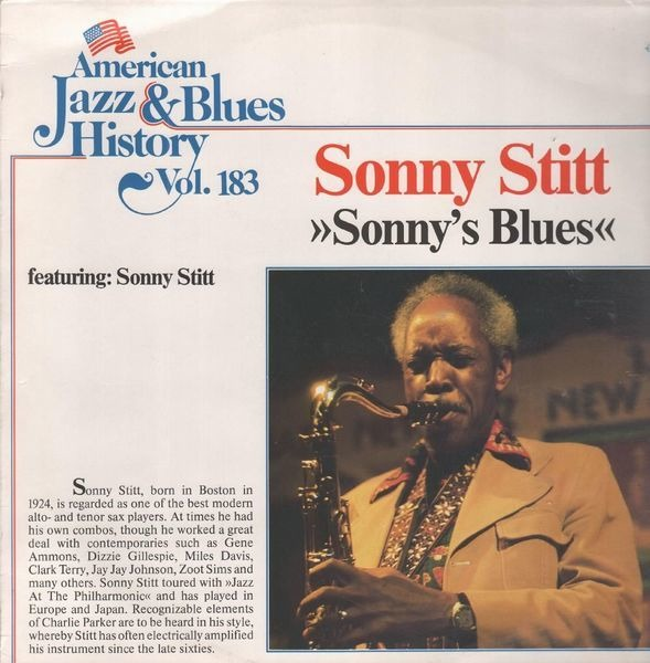 Sonny Stitt American Jazz & Blues History Vol. 183: Sonny's Blues