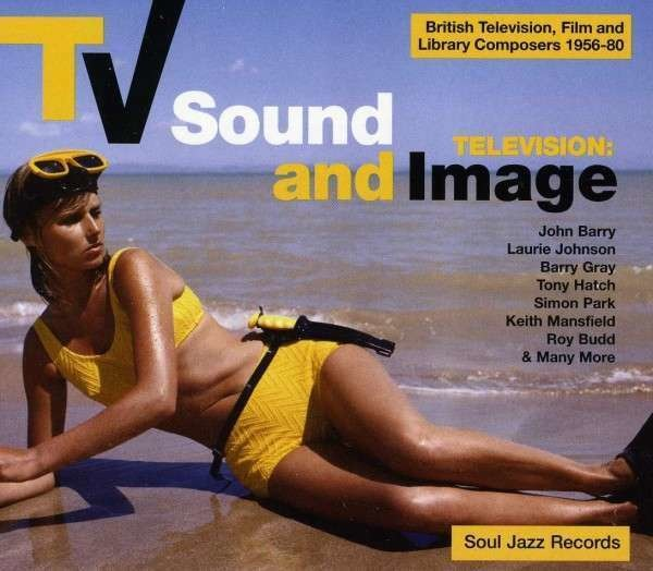 SOUL JAZZ RECORDS PRESENTS/VARIOUS - TV Sound And Image 1955-1978 (50 SEITEN BOOKLET) - CD x 2