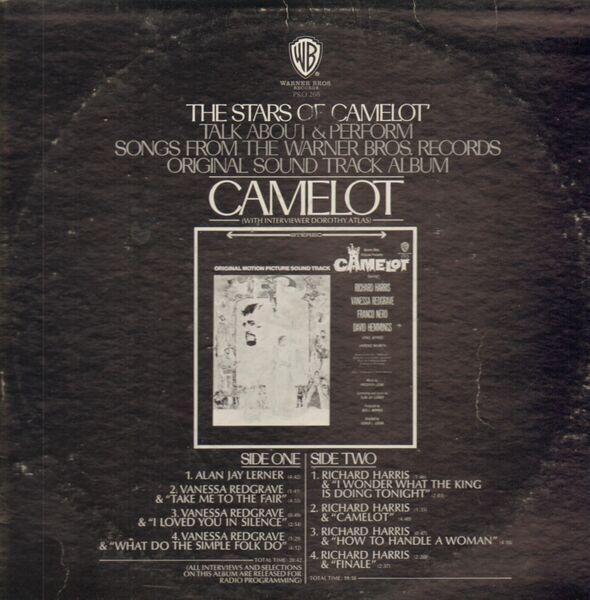 Soundtrack Camelot (VANESSA REDGRAVE, RICHARD HARRIS)
