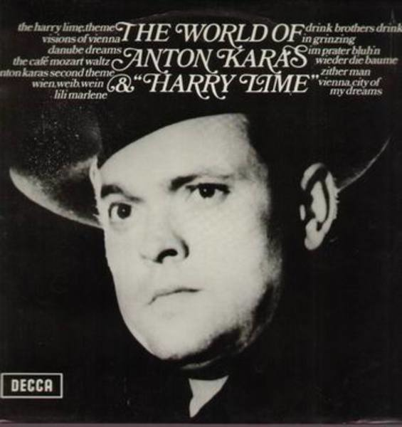 Anton Karas The World Of Anton Karas & 'Harry Lime'