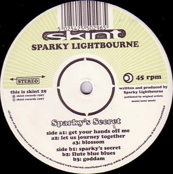 SPARKY LIGHTBOURNE - Sparky's Secret - Maxi x 1