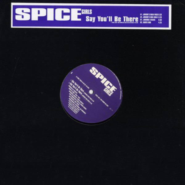 SPICE GIRLS - Say You'll Be There - 12 inch x 1