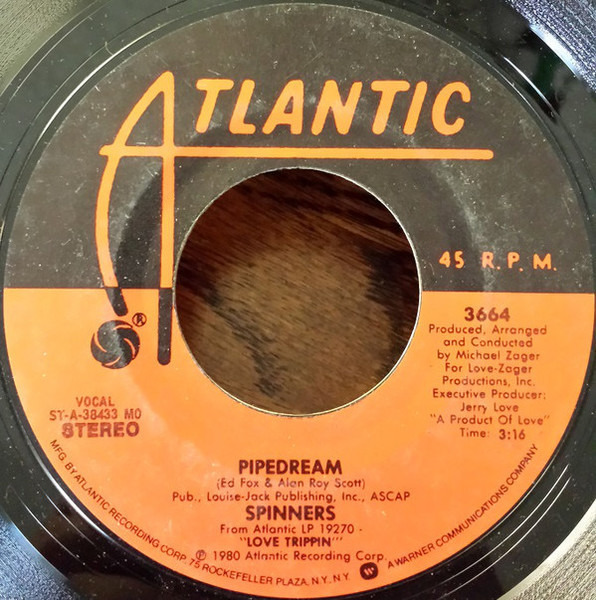 Spinners (Medley) Cupid - I've Loved You For A Long Time / Pipedream