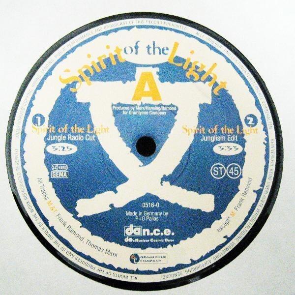 SPIRIT OF THE LIGHT - Spirit Of The Light - 12'' 1枚