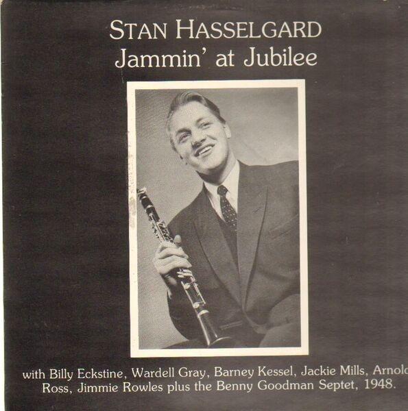 STAN HASSELGARD - Jammin' At Jubilee - 33T