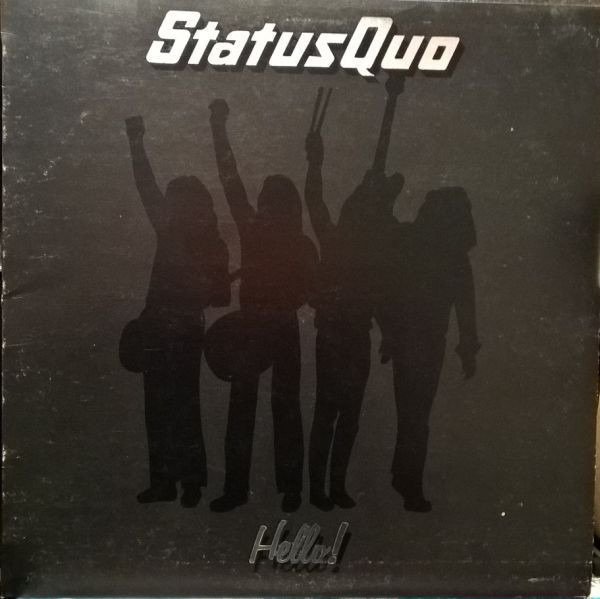 status quo hello! (spiral + poster)