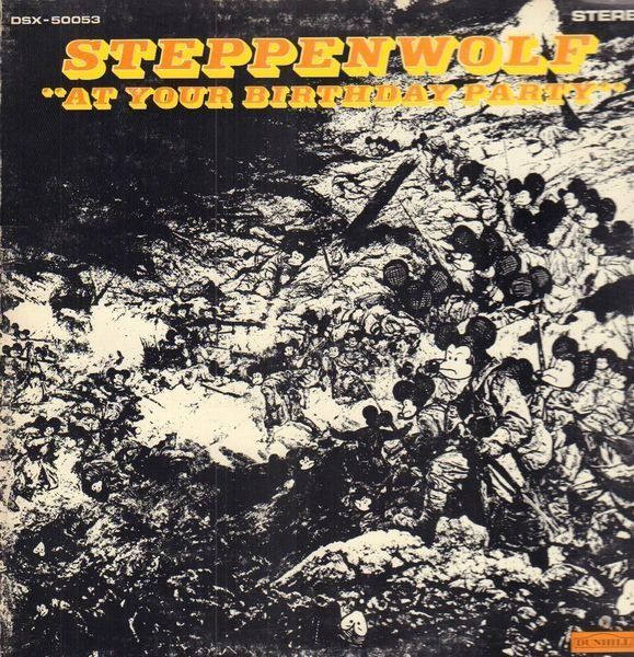 steppenwolf at your birthday party (gatefold)