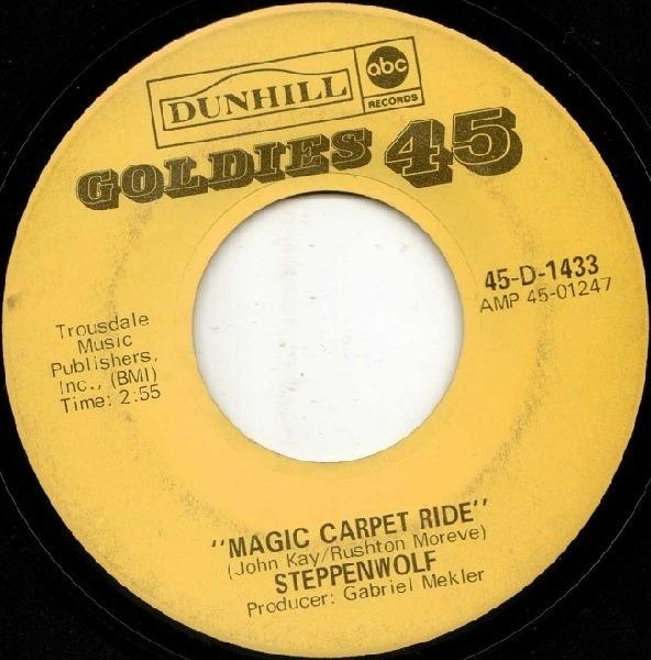 #<Artist:0x00007fd902010058> - Born To Be Wild / Magic Carpet Ride