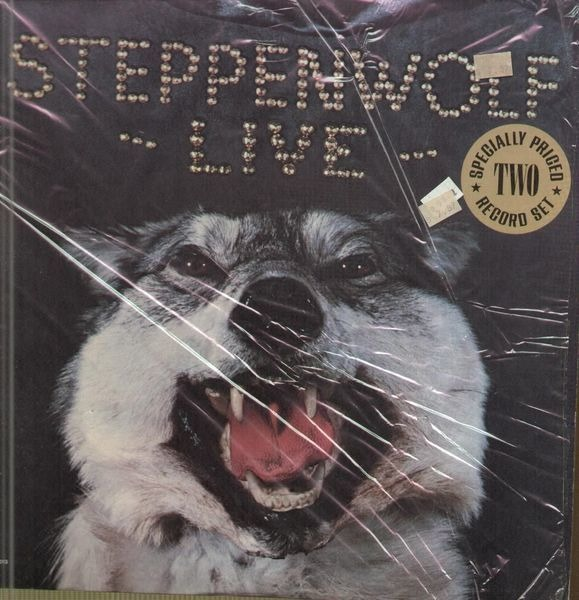 steppenwolf live (still sealed)
