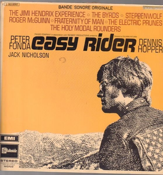 Steppenwolf, The Byrds, The Jimi Hendrix Experienc Easy Rider (Songs As Performed In The Motion Picture) (SINGLE SLEEVE)