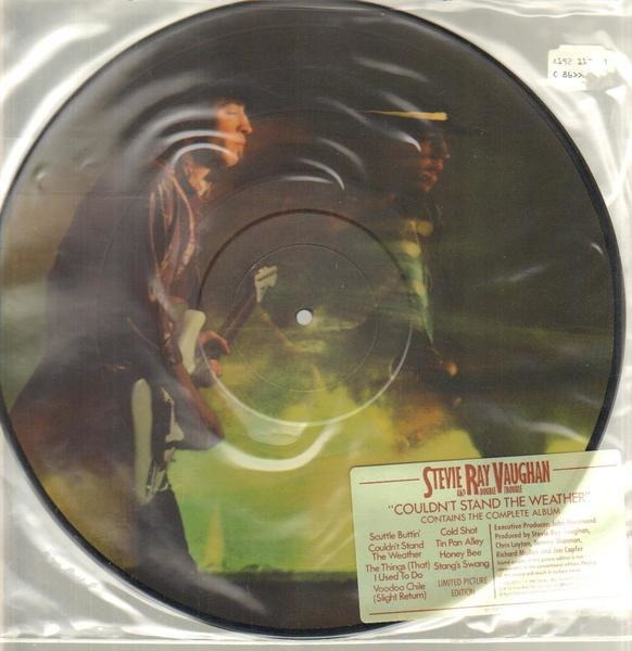 STEVIE RAY VAUGHAN & DOUBLE TROUBLE - Couldn't Stand The Weather (PICTURE DISC) - 33T