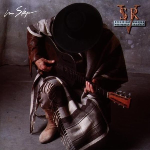 STEVIE RAY  VAUGHAN & DOUBLE TROUBLE - In Step - CD