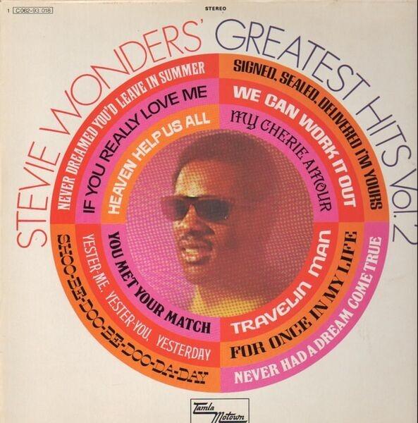 stevie wonder greatest hits vol. 2