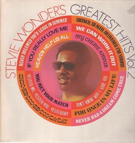 stevie wonder stevie wonder's greatest hits vol. 2
