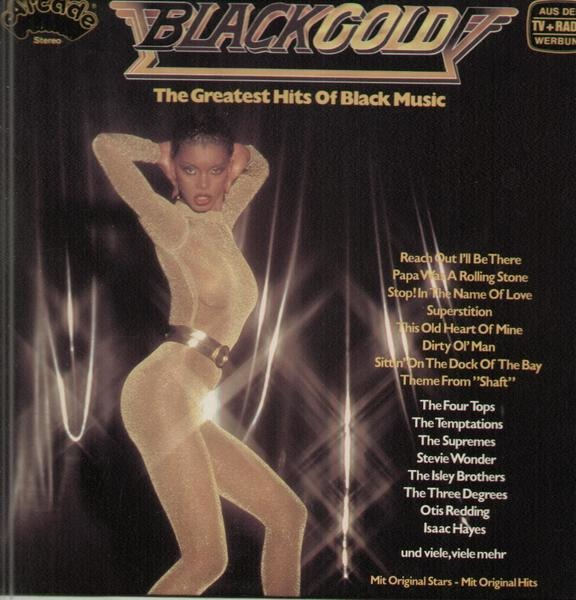 stevie wonder, otis redding,thelma houston u.a. black gold - the greatest hits of black music without cover!