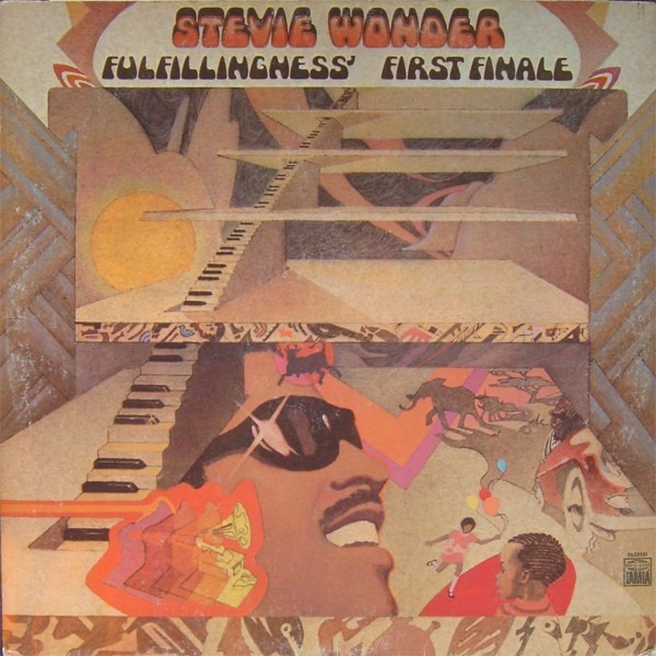 Stevie Wonder Fulfillingness First Finale Records Lps