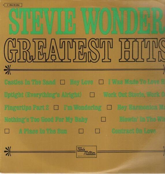 stevie wonder greatest hits vol. 1