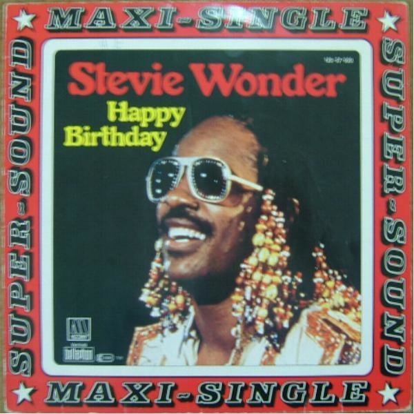 Stevie Wonder Happy Birthday.Stevie Wonder Happy Birthday