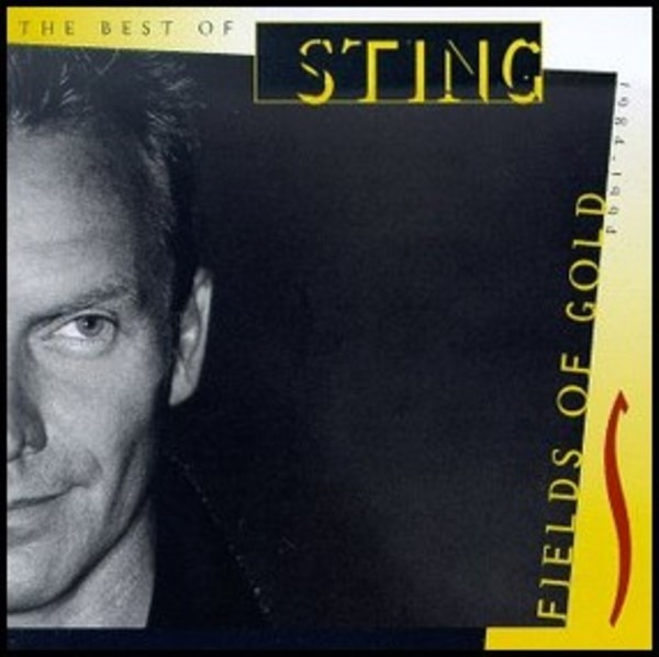 Fields of gold: the best of sting 1984 - 1994 by Sting, CD with recordsale - Ref:3129731984