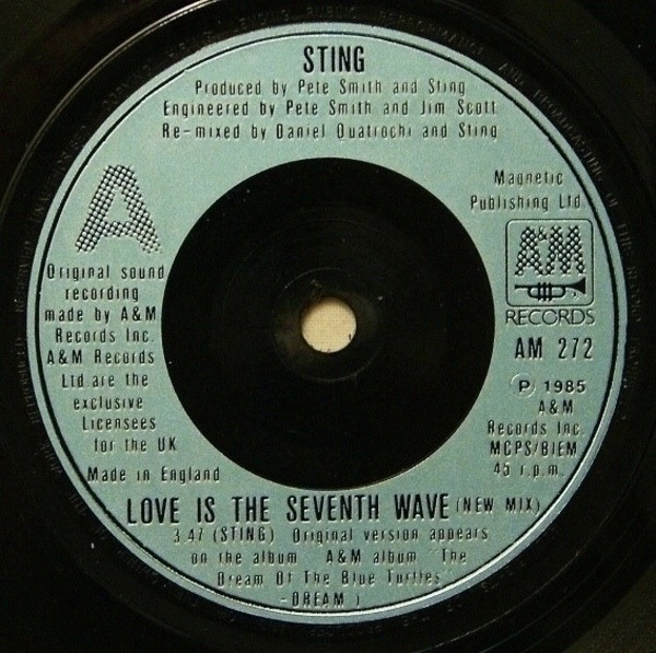 #<Artist:0x007f8198469d50> - Love Is The Seventh Wave (New Mix)