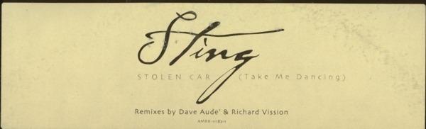 #<Artist:0x007f88b264e258> - Stolen Car (Take Me Dancing)