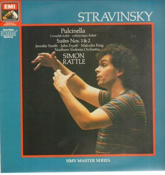 Stravinsky/ S. Rattle, J. Smith, J. Fryatt, M. Kin Pulcinella* Suites Nos. 1&2 (DMM)