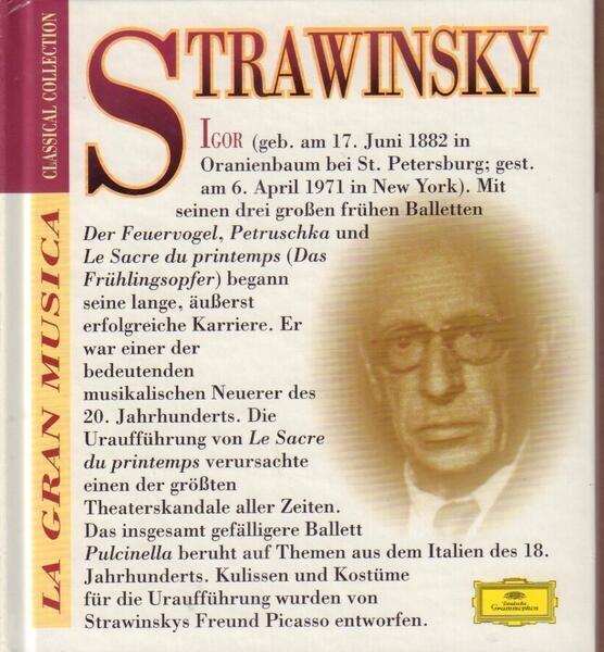 STRAWINSKY - Pilcinella / Le Sacre du Printemps - CD