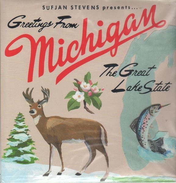 Greetings from michigan the great lake state by sufjan stevens lp sufjan stevens greetings from michigan the great lake state m4hsunfo