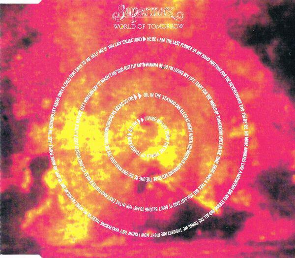 SUPERMAX - World Of Tomorrow - CD Maxi