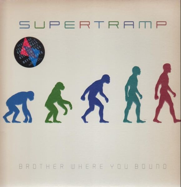 SUPERTRAMP - Brother Where You Bound (EMBOSSED COVER) - LP