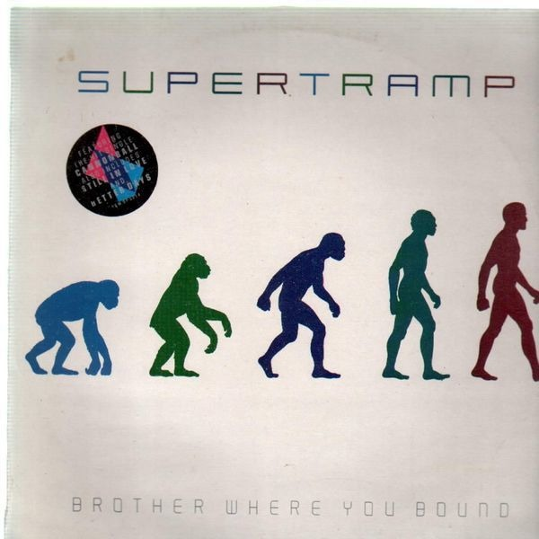 SUPERTRAMP - Brother Where You Bound (EMBOSSED) - LP