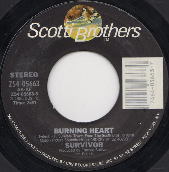 Survivor Burning Heart