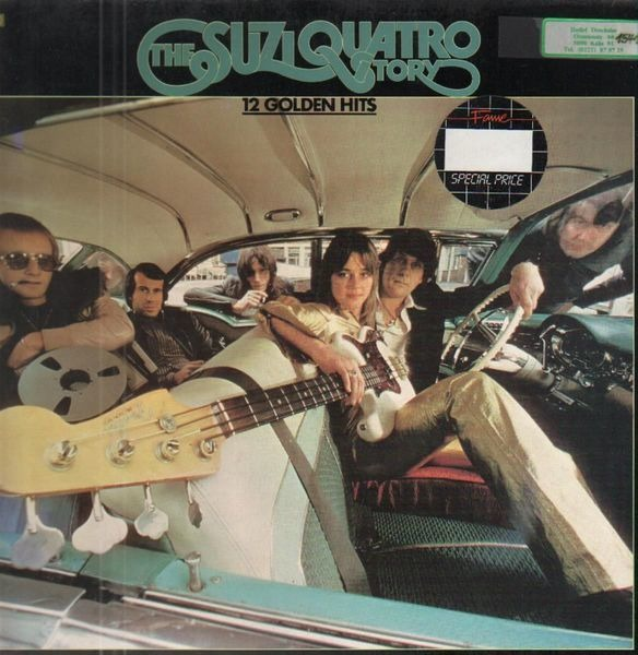 #<Artist:0x007fd3ef6f2f50> - The Suzi Quatro Story - 12 Golden Hits
