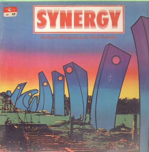 SYNERGY - Electronic Realizations For Rock Orchestra - 33T