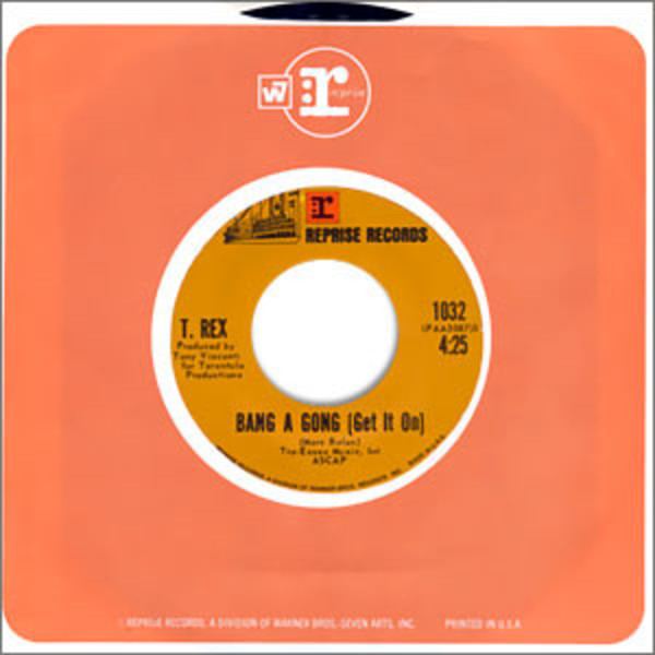 #<Artist:0x007f89230f2068> - Bang A Gong (Get It On) / Raw Ramp