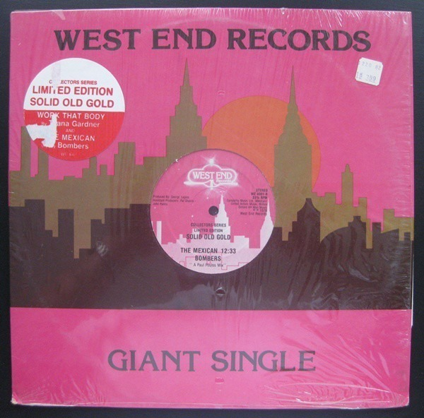 taana gardner / bombers work that body / the mexican (pink label)