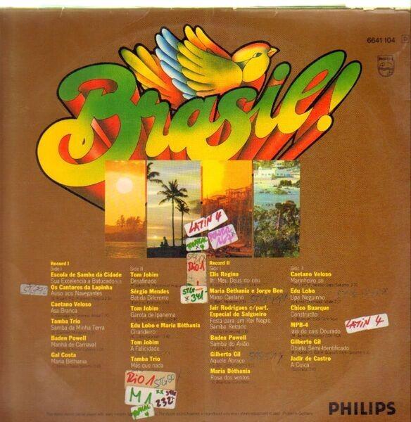Tamba Trio, Tom Jobim, Elis Regina Brasil! (GATEFOLD, BOOKLET)