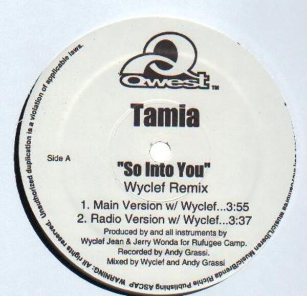 #<Artist:0x00007f811656ba00> - So Into You (Wyclef Remix)