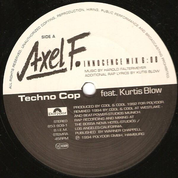 Techno Cop Featuring Kurtis Blow Axel F. (Remix 1994)