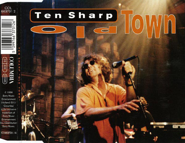 TEN SHARP - Old Town - CD single
