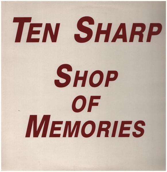 TEN SHARP - Shop Of Memories (PROMO) - 12 inch x 1