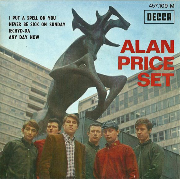 The Alan Price Set I Put A Spell On You (ORIGINAL FRENCH EP)
