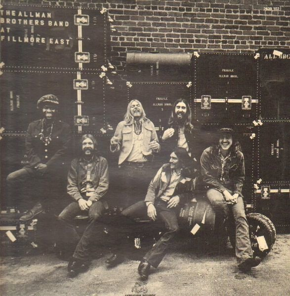 The Allman Brothers Band At Fillmore East (gatefold) - Allman Brothers Band