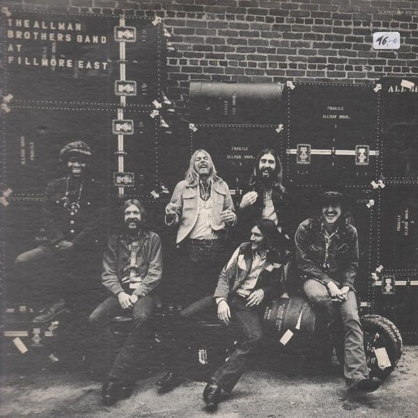 Allman Brothers Band - The Allman Brothers Band At Fillmore East (sh)