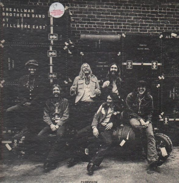 Allman Brothers Band - The Allman Brothers Band At Fillmore East