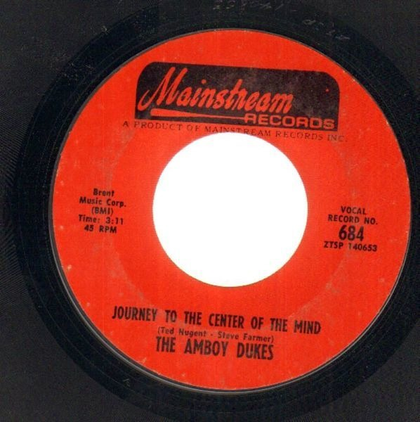 THE AMBOY DUKES - Journey To The Center Of The Mind - 7inch x 1