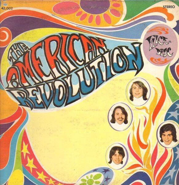 THE AMERICAN REVOLUTION - The American Revolution (MONO, PROMO) - 12 inch x 1